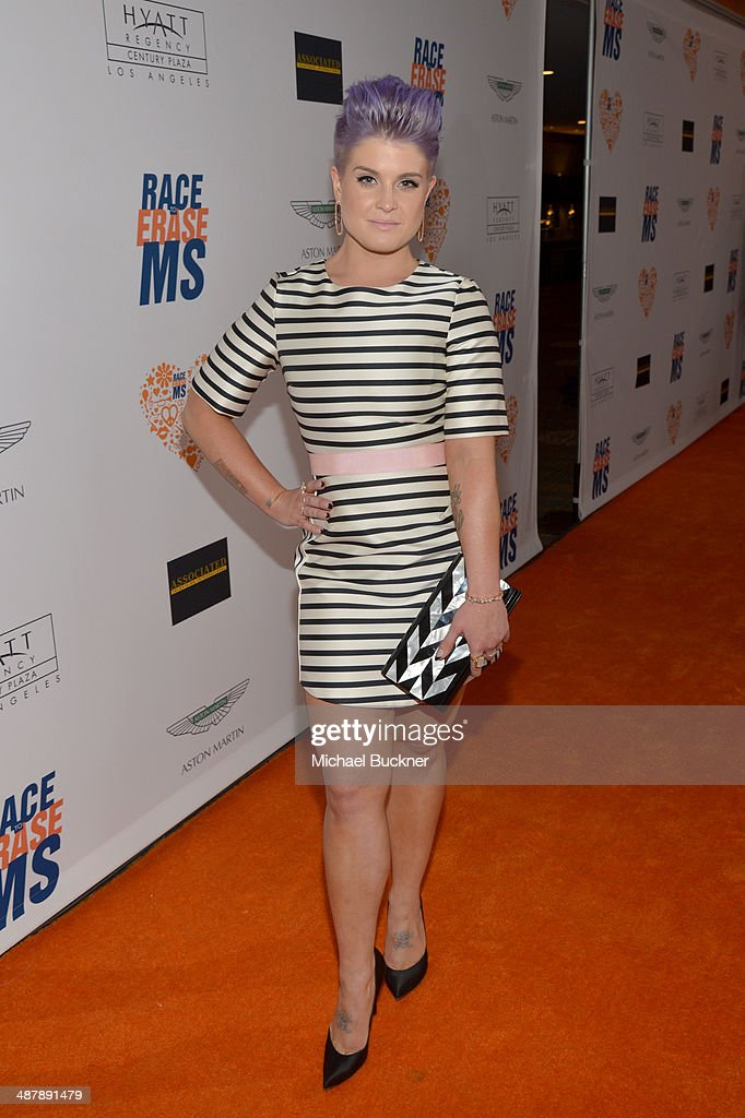 Actress <a gi-track='captionPersonalityLinkClicked' href=/galleries/search?phrase=Kelly+Osbourne&family=editorial&specificpeople=156416 ng-click='$event.stopPropagation()'>Kelly Osbourne</a> attends the 21st annual Race to Erase MS at the Hyatt Regency Century Plaza on May 2, 2014 in Century City, California.