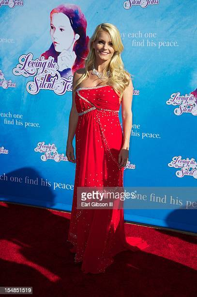 Actress Kelly Packard appears on the red carpet at 'Loving The Silent Tears A New Musical' Opening Night Premiere at The Shrine Auditorium on October...