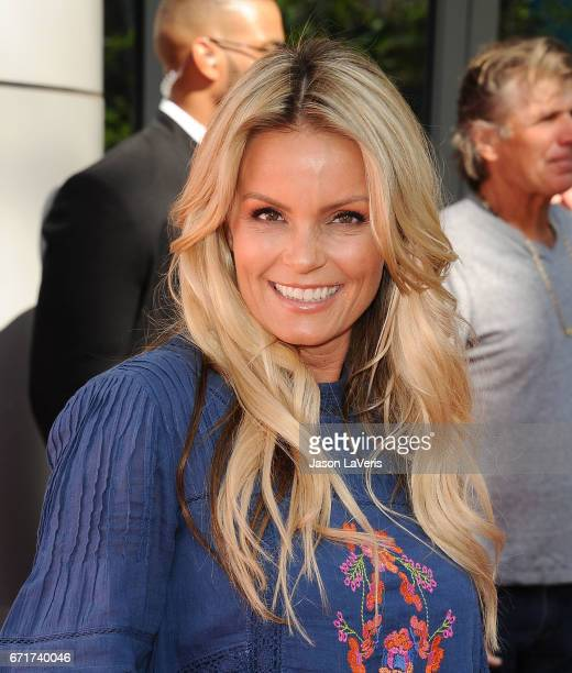 Actress Kelly Packard attends the 'Baywatch' SlowMo Marathon at Microsoft Square on April 22 2017 in Los Angeles California