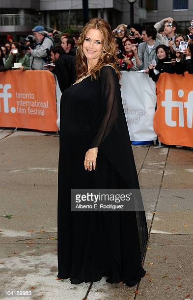 Actress Kelly Preston attends 'Casino Jack' Premiere during the 35th Toronto International Film Festival at Roy Thomson Hall on September 16 2010 in...