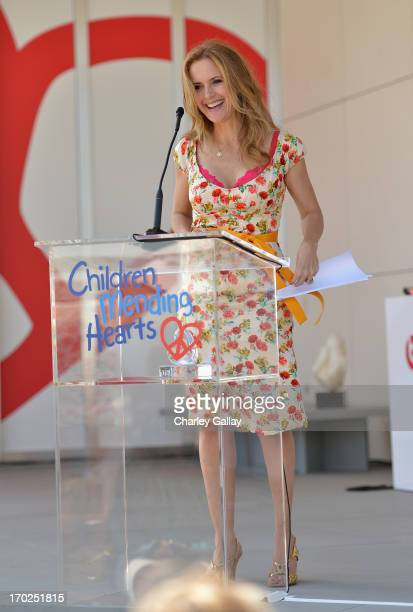 Actress Kelly Preston attends the 1st Annual Children Mending Hearts Style Sunday on June 9 2013 in Beverly Hills California