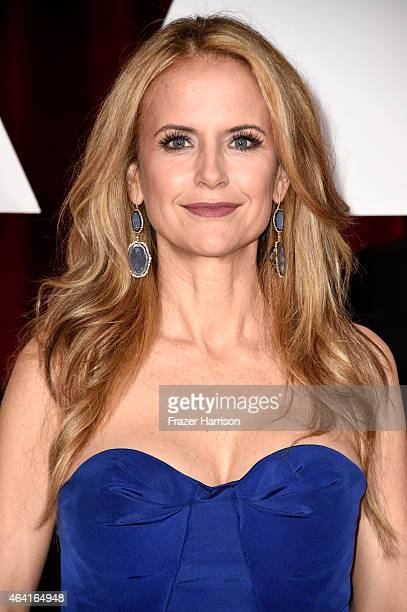 Actress Kelly Preston attends the 87th Annual Academy Awards at Hollywood Highland Center on February 22 2015 in Hollywood California
