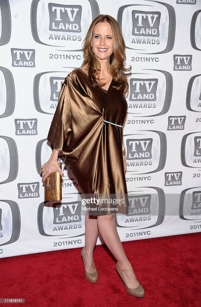 Actress Kelly Preston attends the 9th Annual TV Land Awards at the Javits Center on April 10, 2011 in New York City.