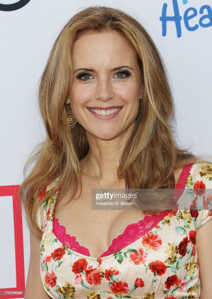Actress Kelly Preston attends the First Annual Children Mending Hearts Style Sunday on June 9, 2013 in Beverly Hills, California.