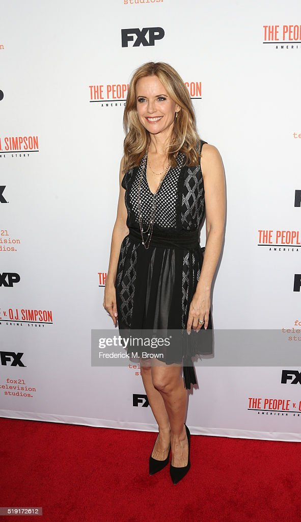 Actress Kelly Preston attends the FX's For Your Consideration Event for 'The People v. O.J. Simpson - American Crime Story' at The Theatre at Ace Hotel on April 4, 2016 in Los Angeles, California.