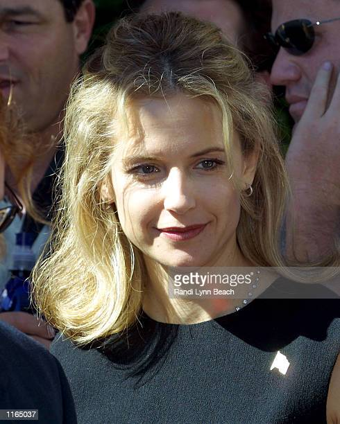 Actress Kelly Preston attends the grand opening of the Church of Scientology Mission of SoMa September 29 2001 in San Francisco CA The new church was...
