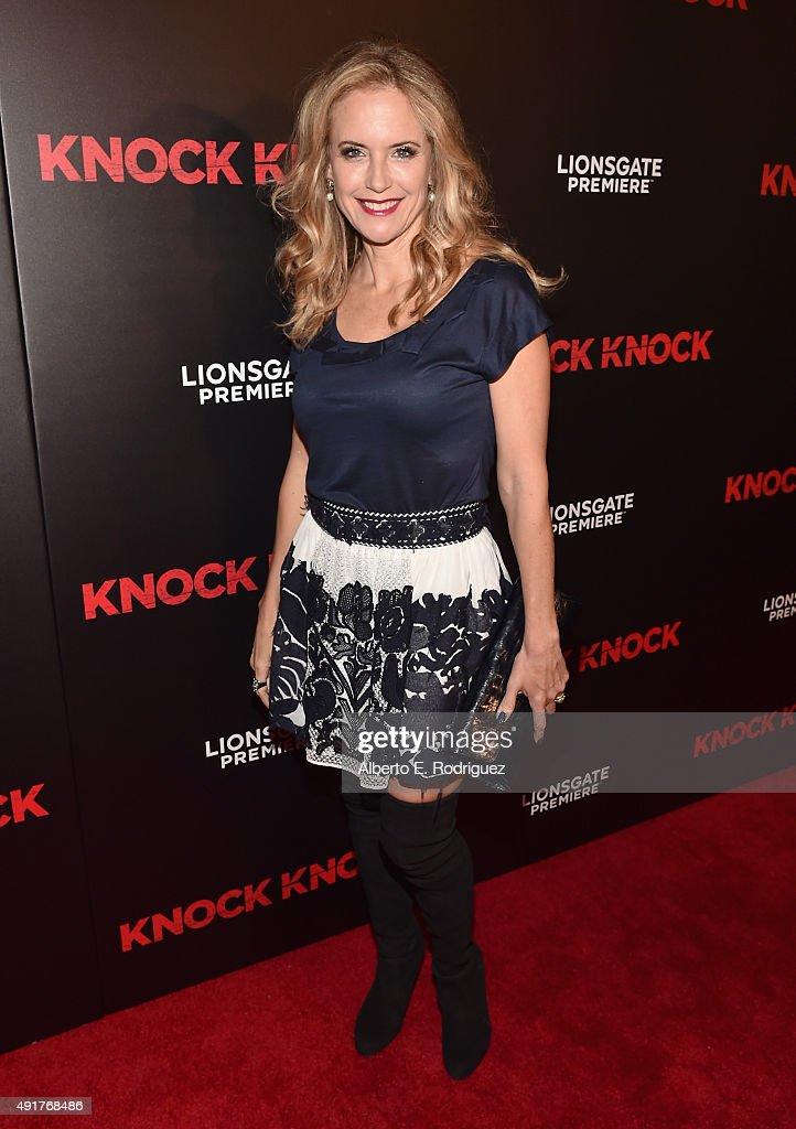 "Premiere Of Lionsgate Premiere's ""Knock Knock"" - Red Carpet"
