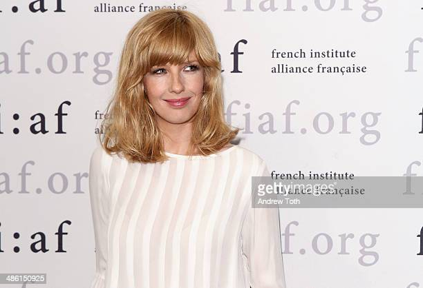 Actress Kelly Reilly attends the CineSalon sneak preview of 'Chinese Puzzle' at Florence Gould Hall on April 22 2014 in New York City