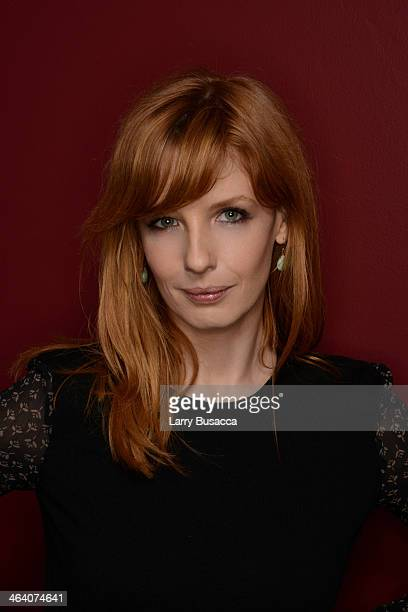 Actress Kelly Reilly poses for a portrait during the 2014 Sundance Film Festival at the WireImage Portrait Studio at the Village At The Lift...