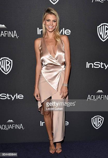 Actress Kelly Rohrbach attends InStyle and Warner Bros 73rd Annual Golden Globe Awards PostParty at The Beverly Hilton Hotel on January 10 2016 in...