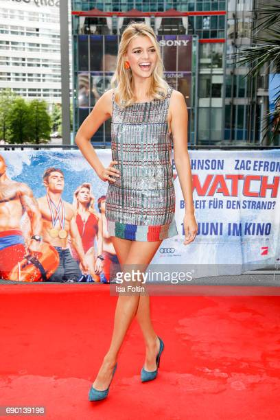 US actress Kelly Rohrbach attends the 'Baywatch' Photo Call in Berlin on May 30 2017 in Berlin Germany