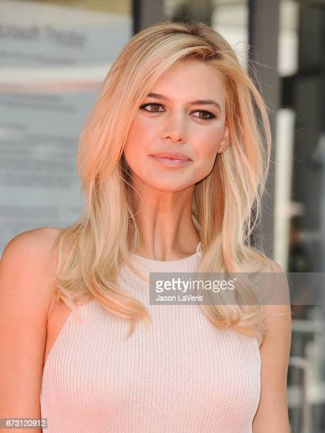 Actress Kelly Rohrbach attends the 'Baywatch' SlowMo Marathon at Microsoft Square on April 22 2017 in Los Angeles California