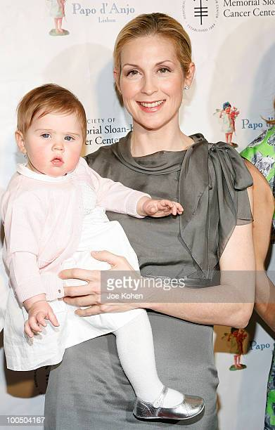 Actress Kelly Rutherford and daughter Helena Grace attend the 19th annual Bunny Hop at FAO Schwarz on March 9 2010 in New York City