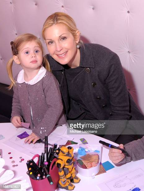Actress Kelly Rutherford and daughter Helena Grace Rutherford Giersch attend Barbie The Dream Closet Playdate Saturday February 11th at David...