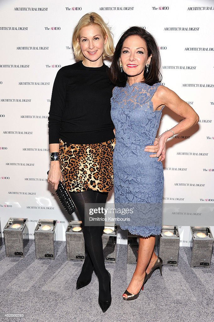 Actress Kelly Rutherford and Margaret Russell, Editor In Chief of Architectural Digest attend The AD100 Gala Hosted By Architectural Digest Editor In Chief Margaret Russell at The Four Seasons Restaurant on November 25, 2013 in New York City.