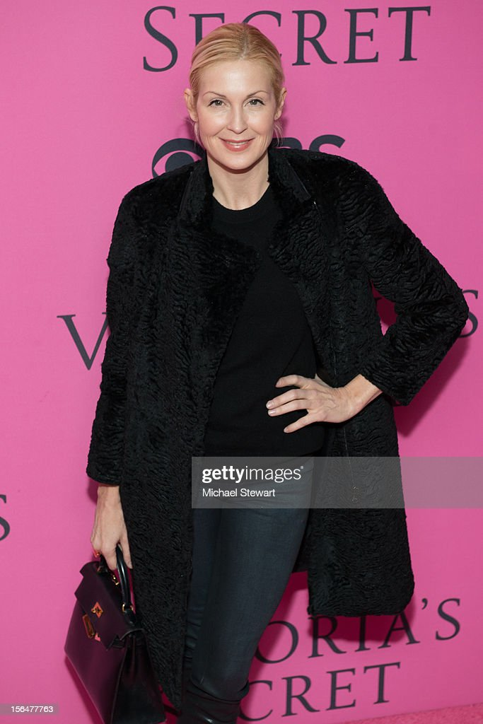Actress Kelly Rutherford attends the 2012 Victoria's Secret Fashion Show at the Lexington Avenue Armory on November 7, 2012 in New York City.