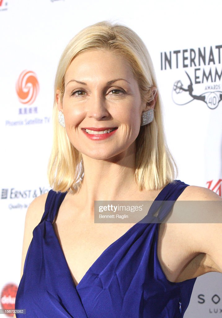 Actress Kelly Rutherford attends the 40th Annual International Emmy Awards at the Hilton New York on November 19, 2012 in New York City.