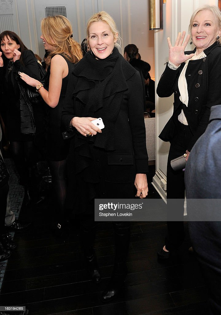Actress <a gi-track='captionPersonalityLinkClicked' href=/galleries/search?phrase=Kelly+Rutherford&family=editorial&specificpeople=217987 ng-click='$event.stopPropagation()'>Kelly Rutherford</a> attends the after party for the Gucci and The Cinema Society screening of 'Oz the Great and Powerful' at Harlow on March 5, 2013 in New York City.