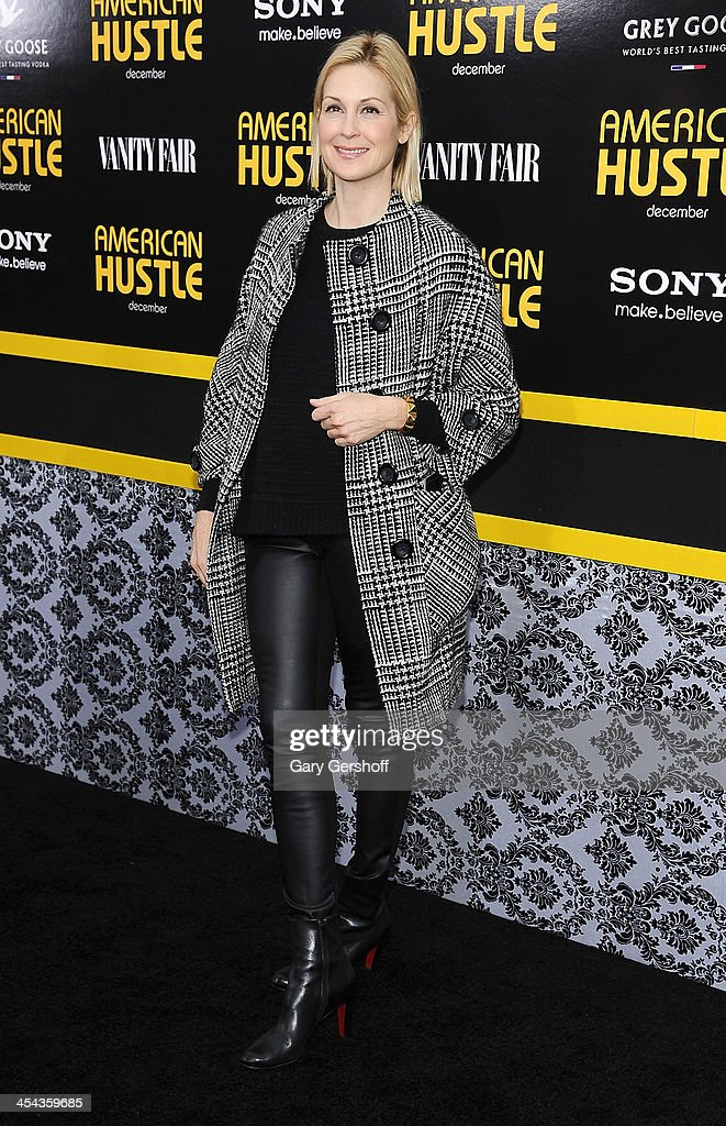 Actress Kelly Rutherford attends the 'American Hustle' screening at Ziegfeld Theater on December 8 2013 in New York City
