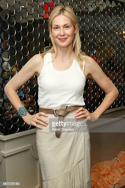 Actress Kelly Rutherford attends the Blushington New York City Grand Opening Party at Le Parker Meridien Underground on July 28 2015 in New York City