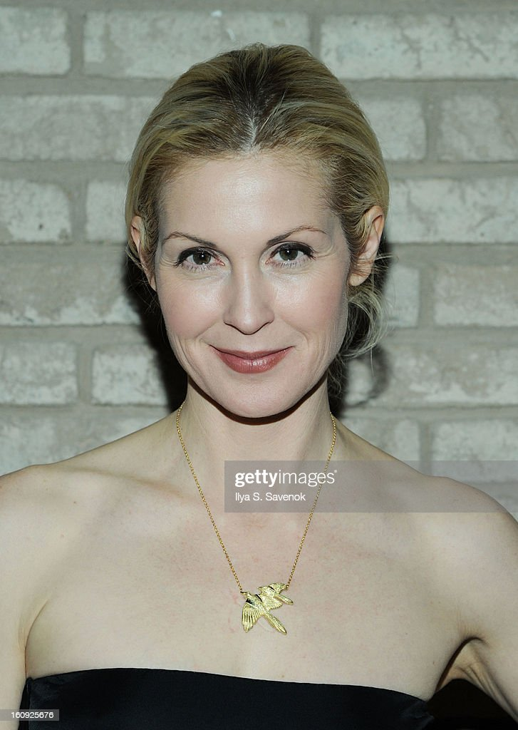 Actress <a gi-track='captionPersonalityLinkClicked' href=/galleries/search?phrase=Kelly+Rutherford&family=editorial&specificpeople=217987 ng-click='$event.stopPropagation()'>Kelly Rutherford</a> attends the La Perla fall 2013 presentation during Mercedes-Benz Fashion Week at The Gallery at The Dream Downtown Hotel on February 7, 2013 in New York City.
