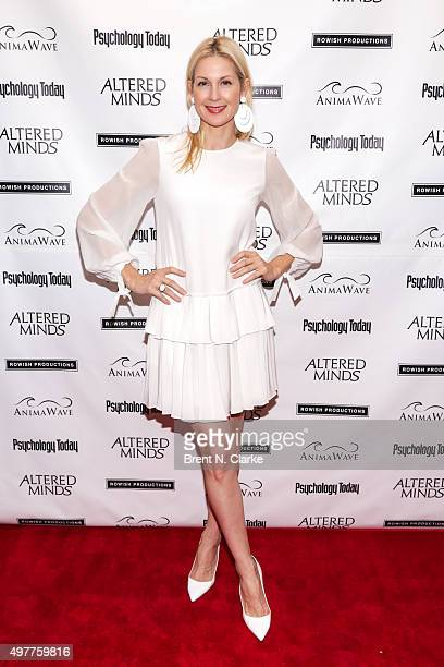 Actress Kelly Rutherford attends the New York premiere of 'Altered Minds' held at the Helen Mills Theater on November 18 2015 in New York City