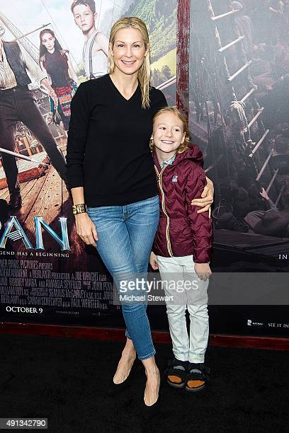 Actress Kelly Rutherford attends the 'Pan' New York Premiere at Ziegfeld Theater on October 4 2015 in New York City