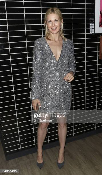 Actress Kelly Rutherford attends the screening after party for Open Road Films' 'Home Again' hosted by The Cinema Society with Elizabeth Arden and...