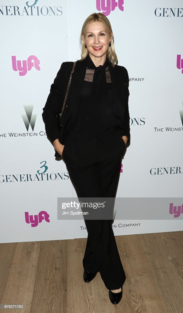 Actress Kelly Rutherford attends the screening of '3 Generations' hosted by The Weinstein Company at the Whitby Hotel on April 30, 2017 in New York City.