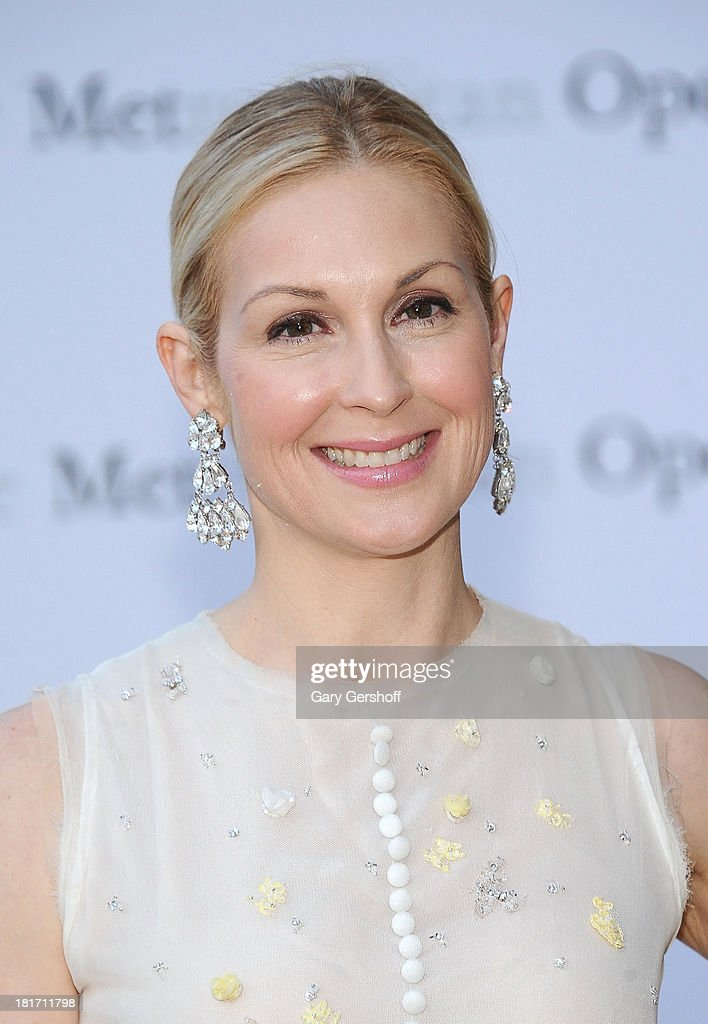 Actress Kelly Rutherford attends the season opening performance of Tchaikovsky's 'Eugene Onegin' at The Metropolitan Opera House on September 23, 2013 in New York City.