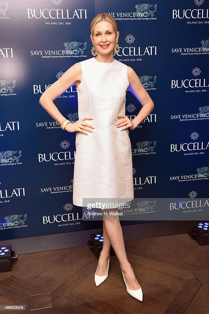 Actress Kelly Rutherford attends Timeless Blue, Buccellati New York Flagship Opening Celebration on March 12, 2015 in New York City.