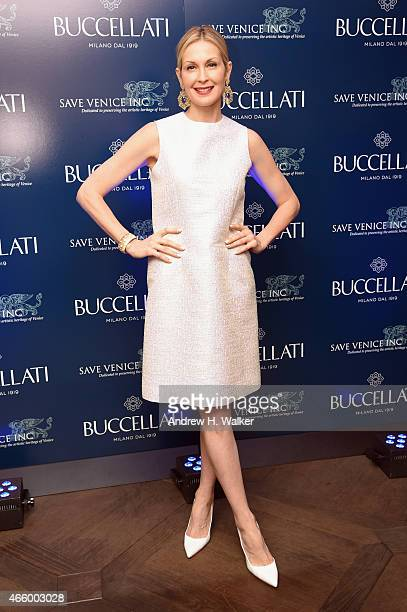 Actress Kelly Rutherford attends Timeless Blue Buccellati New York Flagship Opening Celebration on March 12 2015 in New York City