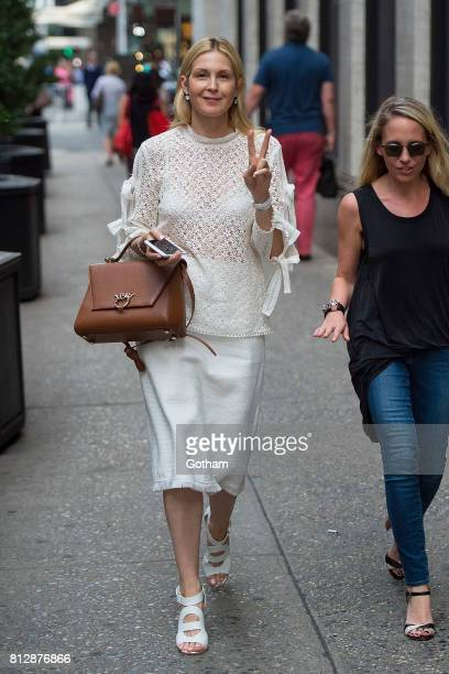 Actress Kelly Rutherford is seen in Midtown on July 11 2017 in New York City