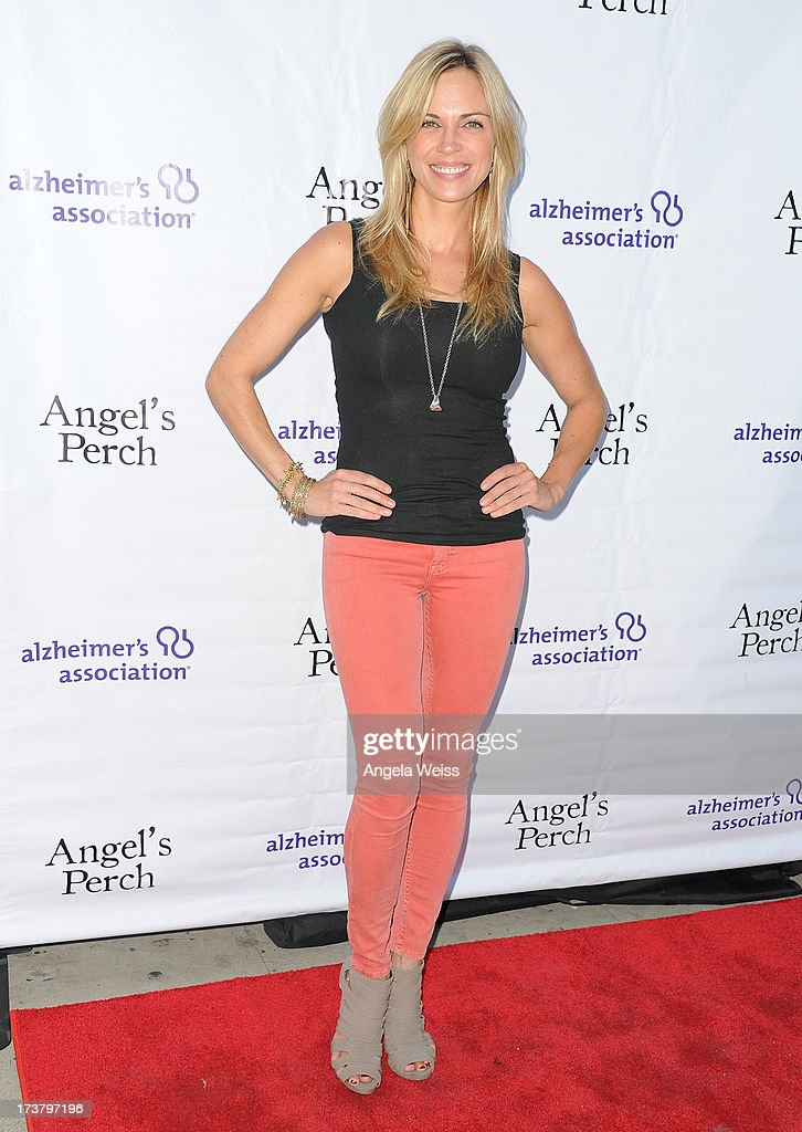 Actress Kelly Sullivan arrives at the 'Angel's Perch' West Coast Premiere at Laemmle's Royal Theatre on July 17, 2013 in Los Angeles, California.