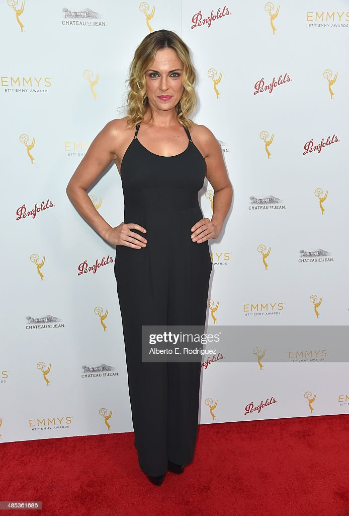 Actress Kelly Sullivan attends a cocktail reception hosted by the Academy of Television Arts & Sciences celebrating the Daytime Peer Group at Montage Beverly Hills on August 26, 2015 in Beverly Hills, California.
