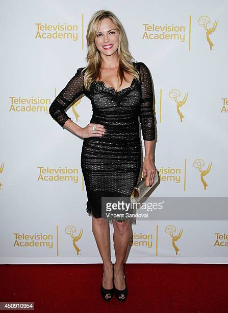 Actress Kelly Sullivan attends the Television Academy Daytime Emmy Nominee reception at The London West Hollywood on June 19 2014 in West Hollywood...
