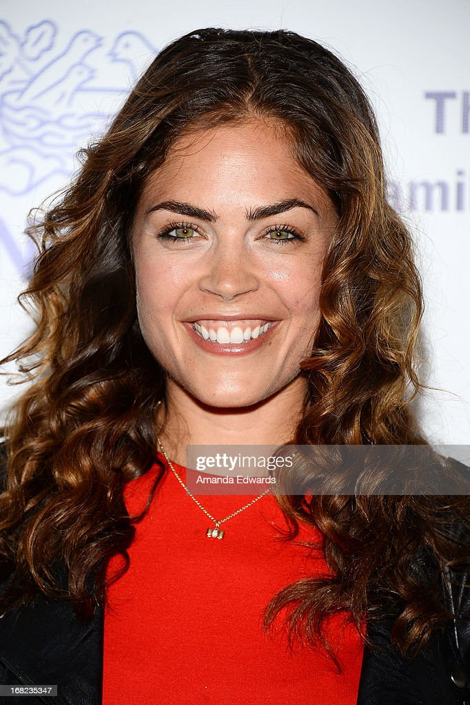 Actress Kelly Thiebaud arrives at the Midnight Mission's 'Golden Heart Awards' honoring Tim Allen and Jason Sinay at the Beverly Wilshire Four Seasons Hotel on May 6, 2013 in Beverly Hills, California.