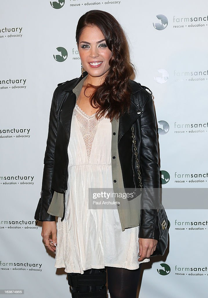 Actress Kelly Thiebaud attends the 'Fun For Animals' celebrity poker tournament at Petersen Automotive Museum on March 16, 2013 in Los Angeles, California.
