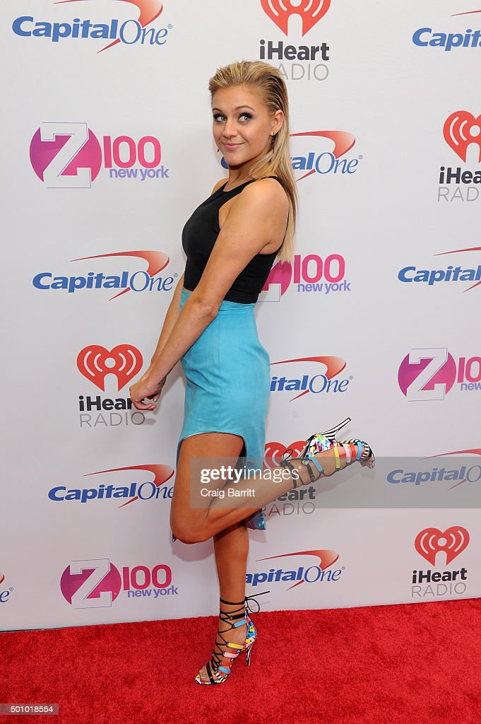 Actress Kelsea Ballerini attends Z100's Jingle Ball 2015 at Madison Square Garden on December 11, 2015 in New York City.
