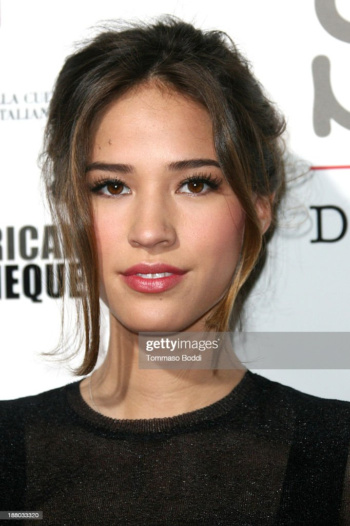 Actress <a gi-track='captionPersonalityLinkClicked' href=/galleries/search?phrase=Kelsey+Chow&family=editorial&specificpeople=4209642 ng-click='$event.stopPropagation()'>Kelsey Chow</a> attends the Luce Cinecitta' and the American Cinematheque in collaboration with AFI FEST present Cinema Italian Style opening night held at the Egyptian Theatre on November 14, 2013 in Hollywood, California.