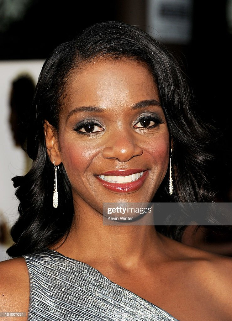 Actress Kelsey Scott arrives at the premiere of Fox Searchlights' '12 Years A Slave' at the Directors Guild on October 14, 2013 in Los Angeles, California.