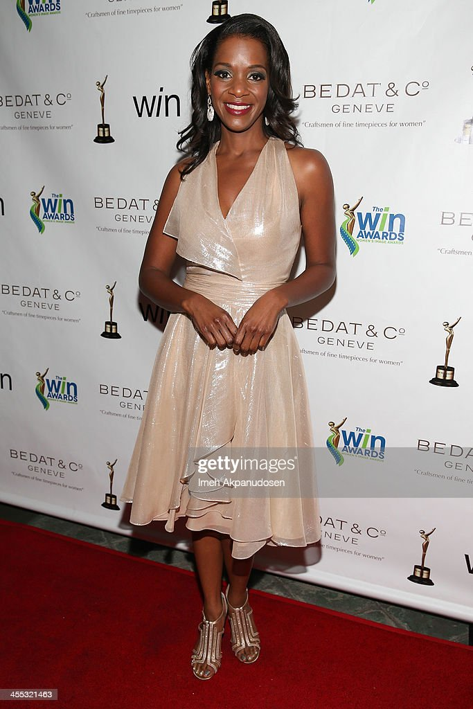 Actress Kelsey Scott attends the 2013 Women's Image Awards at Santa Monica Bay Womans Club on December 11, 2013 in Santa Monica, California.