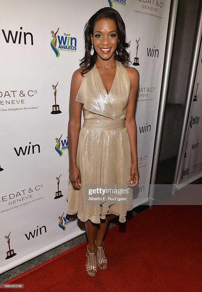 Actress Kelsey Scott attends the WIN Awards at Santa Monica Bay Womans Club on December 11, 2013 in Santa Monica, California.
