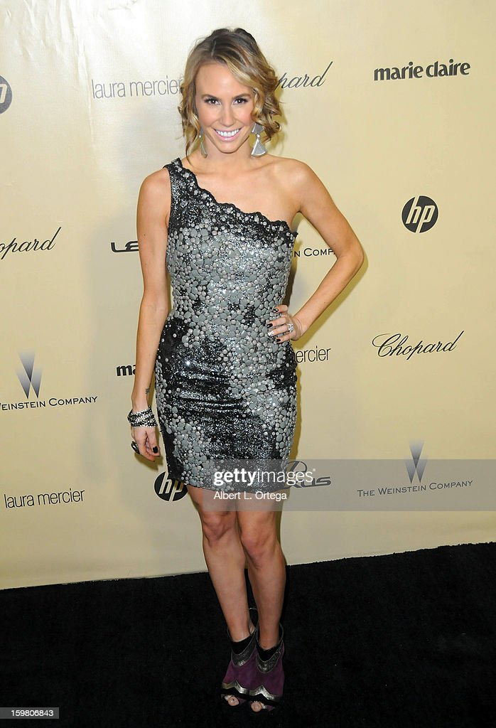 Actress Keltie Colleen arrives for the Weinstein Company's 2013 Golden Globe Awards After Party - Arrivals on January 13, 2013 in Beverly Hills, California.