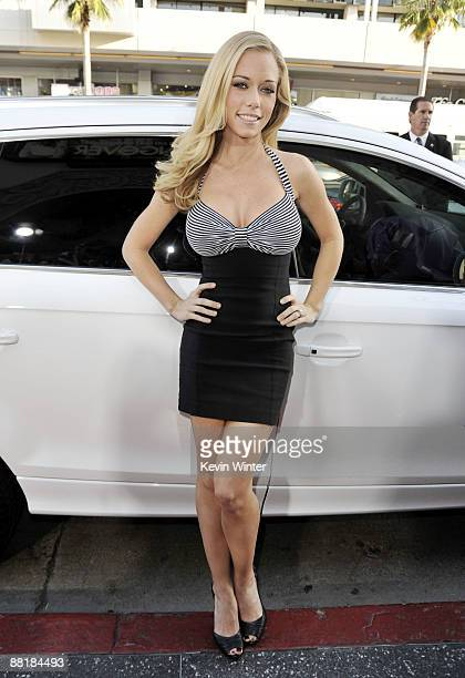 Actress Kendra Wilkinson arrives at the premiere of Warner Bros Pictures' 'Hangover' at the Chinese Theater on June 2 2009 in Los Angeles California
