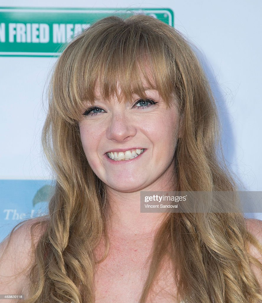 Actress Kendrah McKay attends the premiere of 'Fried Meat 3: The Unfryable Meatness of Being' at Pacific Resident Theatre on August 18, 2014 in Venice, California.