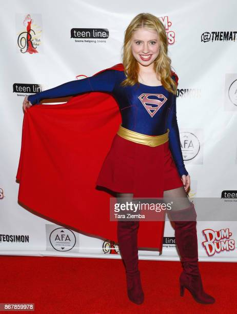 Actress Kennedy Martin attends Mateo Simon's Halloween Charity Event on October 28 2017 in Burbank California