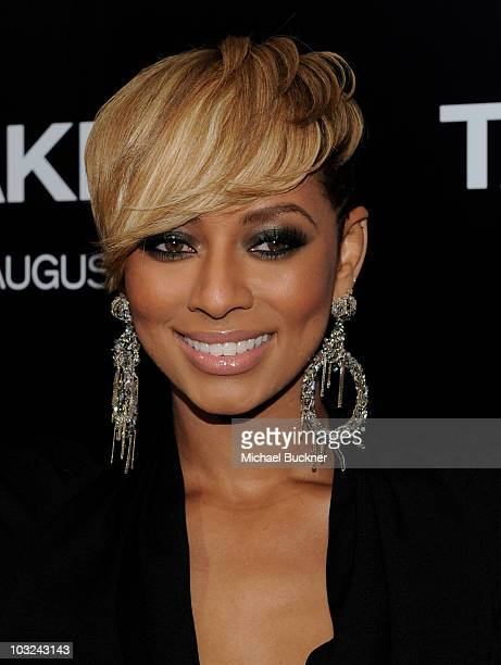Actress Keri Hilson arrives at the premiere of Screen Gems' 'Takers' at the Arclight Cinerama Dome on August 4 2010 in Hollywood California