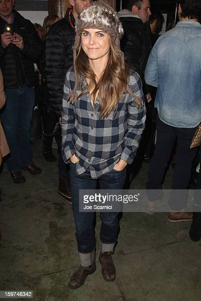 Actress Keri Russell attends Day 1 of the Variety Studio at 2013 Sundance Film Festival on January 19 2013 in Park City Utah