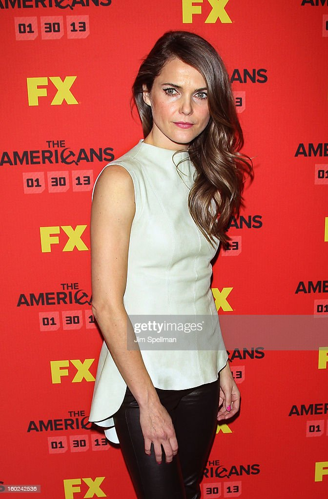 Actress Keri Russell attends FX's 'The Americans' Season One New York Premiere at DGA Theater on January 26, 2013 in New York City.